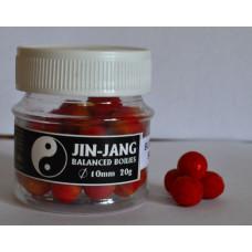 JIN - JANG BALANCED boilies 10mm, Butyric acid scopex
