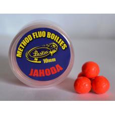 METHOD FLUO BOILIES 10 mm - jahoda