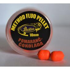 METHOD FLUO PELLET 10 mm - pomaranč - čokoláda