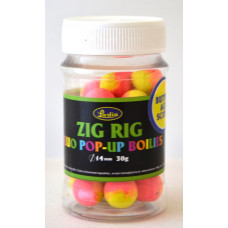 ZIG RIG FLUO POP-UP Boilies - yellow - pink