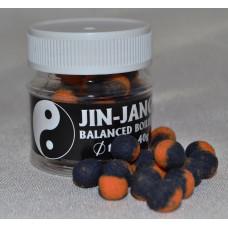 JIN - JANG BALANCED boilies 10mm Frankfurtská klobása
