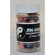 JIN - JANG BALANCED boilies 14mm - Pomaranč - Čokoláda