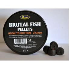 BRUTAL FISH PELLETS hook to bottom,priem.13 mm